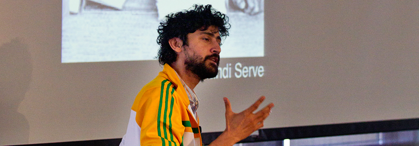 Photo of Dr. Manu Prakash.