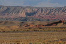 Photo of Hangay Mountains of central Mongolia.