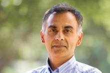 Photo of Dr. Chaitan Khosla, Director of the Institute for Chemical Biology.
