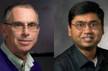Photos of Drs. Russ Altman and Nigam Shah.