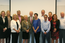 Photo of Bio-X Advisory Council members.
