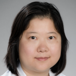 Photo of smiling female Asian faculty member Dr. Bo Yu, Assistant Professor of Obstetricss & Gynecology at Stanford University.