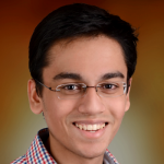 Photo of Stanford student and Stanford Bio-X Undergraduate Summer Research Program Participant Sid Suri Dhawan.