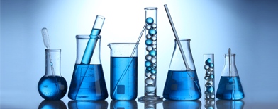 Photo of beakers and test tubes.